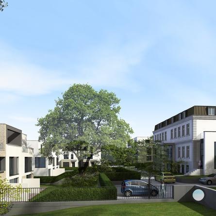 Hamburg-Blankenese, Elbquartier - Visualisierung