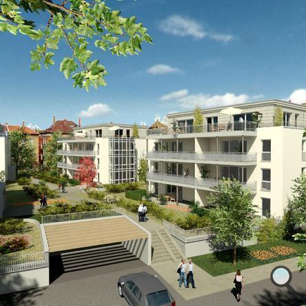 Braunschweig, Wohnen Am Prinzenpark - Visualisierung